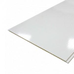 Панели ПВХ Панельпласт Белый глянец 2.5 м