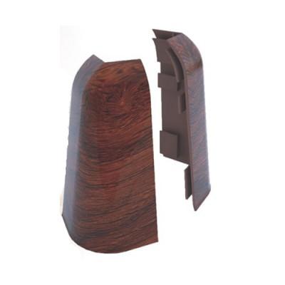 Угол наружный для плинтуса ПВХ РосМат Rico Royal (в цвет плинтуса)