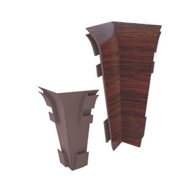 Угол внутренний для плинтуса ПВХ РосМат Rico Royal (в цвет плинтуса)