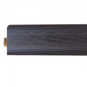 Плинтус напольный ПВХ Vox Smart Flex Дуб Черный 575