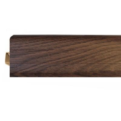 Плинтус напольный ПВХ Vox Smart Flex Ироко 550