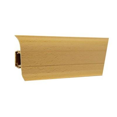 Плинтус напольный ПВХ T-plast Бук Натуральный 003