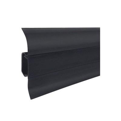 Плинтус напольный ПВХ T-plast Черный 076