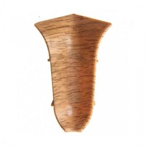 Угол внутренний для плинтуса ПВХ T-plast (в цвет плинтуса)