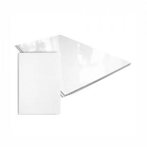 Панели ПВХ Dekostar Белый глянец, 3.0 м (375 мм)