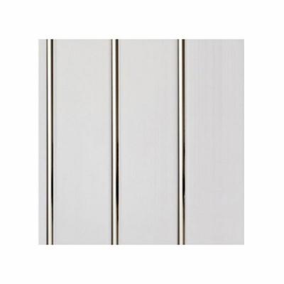 Панели ПВХ Dekostar Люкс 3-х секционная Серебро