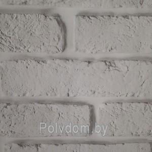 Панели ПВХ Dekostar Стандарт New Кирпич белый-347, 2.5 м